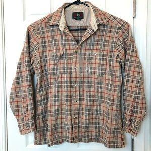 High Sierra Men's Wool Blend Plaid Flannel